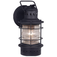 Vaxcel OW37051TB Hyannis 1 Light 12 inch Textured Black Outdoor Wall