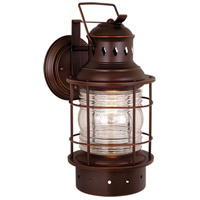 Vaxcel OW37081BBZ Hyannis 1 Light 18 inch Burnished Bronze Outdoor Wall