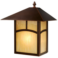 Vaxcel OW37213BBZ Mission II 1 Light 13 inch Burnished Bronze Outdoor Wall