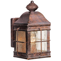 Vaxcel OW39553RBZ Revere 1 Light 9 inch Royal Bronze Outdoor Wall