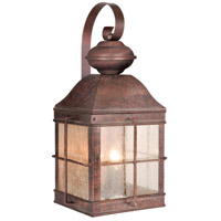 Vaxcel OW39593RBZ Revere 3 Light 19 inch Royal Bronze Outdoor Wall