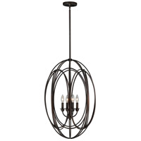 Vaxcel P0016 Solstice 4 Light 20 inch Burnished Bronze Pendant Ceiling Light