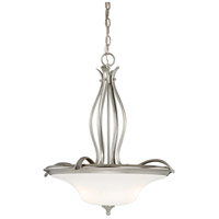 Vaxcel P0023 Sonora 3 Light 20 inch Satin Nickel Pendant Ceiling Light