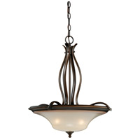 Vaxcel P0028 Sonora 3 Light 20 inch Venetian Bronze Pendant Ceiling Light