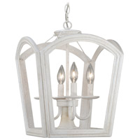 Antique White Canterbury Pendants