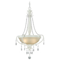 Vaxcel P0047 Bristol 2 Light 19 inch Antique Ivory Pendant Ceiling Light