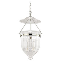 Vaxcel P0119 630 Series 3 Light 13 inch Polished Nickel Pendant Ceiling Light