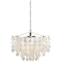 Vaxcel P0139 Elsa 3 Light 20 inch Satin Nickel Pendant Ceiling Light