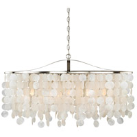 Vaxcel P0140 Elsa 5 Light 36 inch Satin Nickel Pendant Ceiling Light
