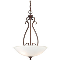 Vaxcel P0152 Hartford 3 Light 16 inch Weathered Patina Pendant Ceiling Light