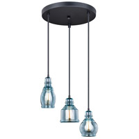 Vaxcel P0249 Mille 3 Light 18 inch Oil Rubbed Bronze Pendant Ceiling Light