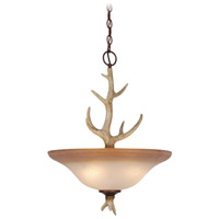 Vaxcel PD33088NS Lodge 4 Light 18 inch Noachian Stone Pendant Ceiling Light
