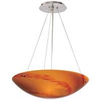 Vaxcel PD53212SN Milano 3 Light 16 inch Satin Nickel Pendant Ceiling Light