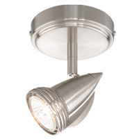 Vaxcel SP34112SN Garda 1 Light Satin Nickel Directional Light Ceiling Light