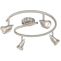 Vaxcel SP34118SN Garda 4 Light Satin Nickel Directional Light Ceiling Light