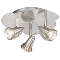 Vaxcel SP34124SN Garda 3 Light Satin Nickel Directional Light Ceiling Light