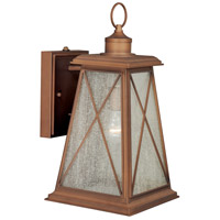 Vaxcel T0062 Mackinac 1 Light 18 inch Antique Red Copper Outdoor Wall Light