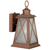 Mackinac 1 Light 14 inch Antique Red Copper Outdoor Wall Light