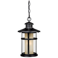 Vaxcel T0089 Cadiz 1 Light 8 inch Oil Burnished Bronze Outdoor Pendant