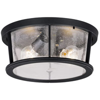 Vaxcel T0097 Coventry 2 Light 13 inch Dark Bronze Outdoor Flush Mount