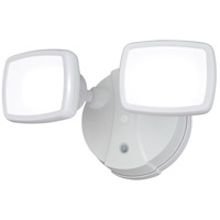 White Aluminum-Plastic Outdoor Wall Lights