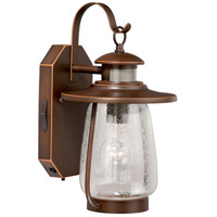 Vaxcel T0124 Galway Burnished Bronze Outdoor Motion Sensor Wall