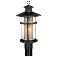 Vaxcel T0139 Cadiz 1 Light 19 inch Oil Burnished Bronze Outdoor Post