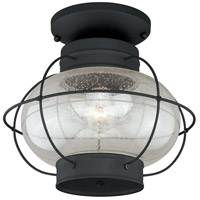 Vaxcel T0144 Chatham 1 Light 13 inch Textured Black Outdoor Ceiling