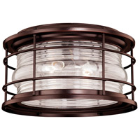Vaxcel T0166 Hyannis 2 Light 13 inch Burnished Bronze Outdoor Ceiling