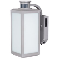 Vaxcel T0213 Rand Painted Satin Nickel Outdoor Motion Sensor Wall