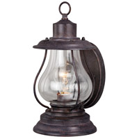 Vaxcel T0215 Dockside 1 Light 13 inch Weathered Patina Outdoor Wall Light