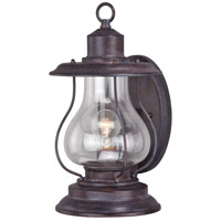 Vaxcel T0216 Dockside 1 Light 15 inch Weathered Patina Outdoor Wall Light