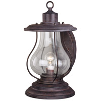 Vaxcel T0217 Dockside 1 Light 18 inch Weathered Patina Outdoor Wall