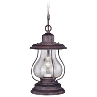 Vaxcel T0219 Dockside 1 Light 8 inch Weathered Patina Outdoor Pendant