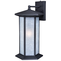 Vaxcel T0225 Halsted 1 Light 23 inch Textured Black Outdoor Wall