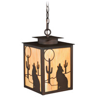 Vaxcel T0230 Calexico 1 Light 9 inch Burnished Bronze Outdoor Pendant