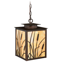 Vaxcel T0231 Bulrush 1 Light 9 inch Burnished Bronze Outdoor Pendant