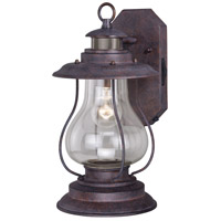 Vaxcel T0237 Dockside 1 Light 15 inch Weathered Patina Outdoor Wall Light