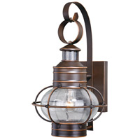 Vaxcel T0249 Chatham 1 Light 18 inch Burnished Bronze Outdoor Wall Light
