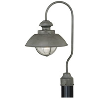 Vaxcel T0266 Harwich 1 Light 21 inch Textured Gray Outdoor Post