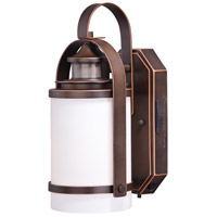 Vaxcel T0269 Weston Burnished Bronze Outdoor Motion Sensor Wall