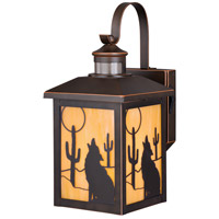 Vaxcel T0272 Calexico 1 Light 15 inch Burnished Bronze Outdoor Wall Light