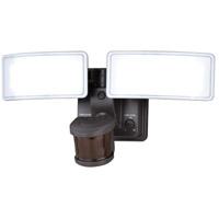 Vaxcel T0275 Gamma 2 120V 13.50 watt Bronze Outdoor Motion Sensor Flood