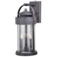Vaxcel T0287 Cumberland 3 Light 24 inch Rust Iron Outdoor Wall