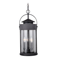 Vaxcel T0288 Cumberland 3 Light 10 inch Rust Iron Outdoor Pendant