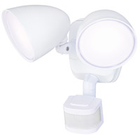 Vaxcel T0298 Tau 120V 18.00 watt White Outdoor Motion Sensor Flood