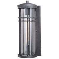 Vaxcel T0307 Wrightwood 1 Light 17 inch Vintage Black Outdoor Wall