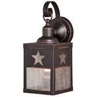 Vaxcel Burnished Bronze Outdoor Wall Lights