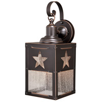 Vaxcel T0333 Ranger 1 Light 21 inch Burnished Bronze Outdoor Wall Light