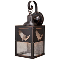 Vaxcel T0334 Missoula 1 Light 21 inch Burnished Bronze Outdoor Wall Light